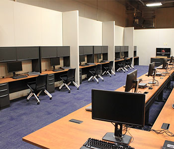 Emergency Response Center, cabling, outlets